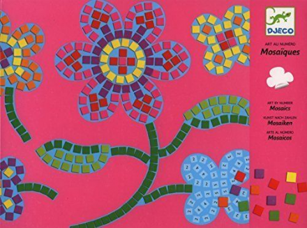 Djeco Flowers -  Mosaics Art Set